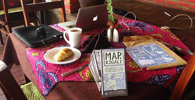 Distributing Kigali Maps