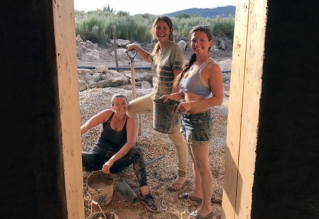 Natural Building Internship at Keela Yoga Farm