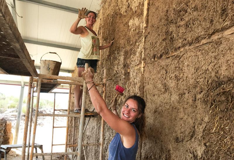 Natural Building Internship at Keela Yoga Farm
