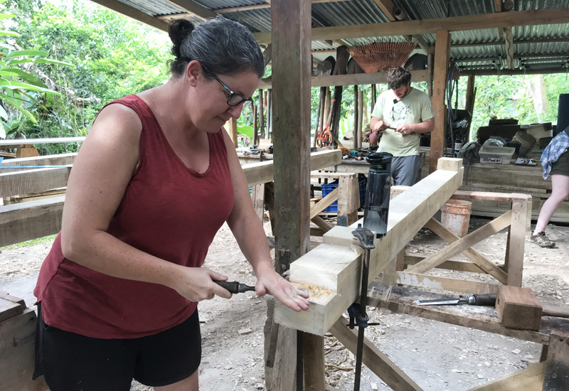 Rancho Mastatal Timber Framing Course