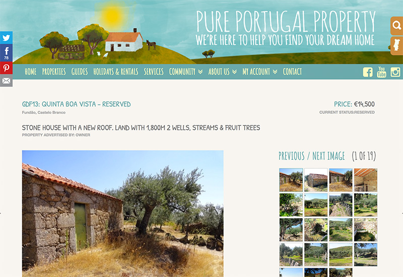 Buying Land in Central Portugal